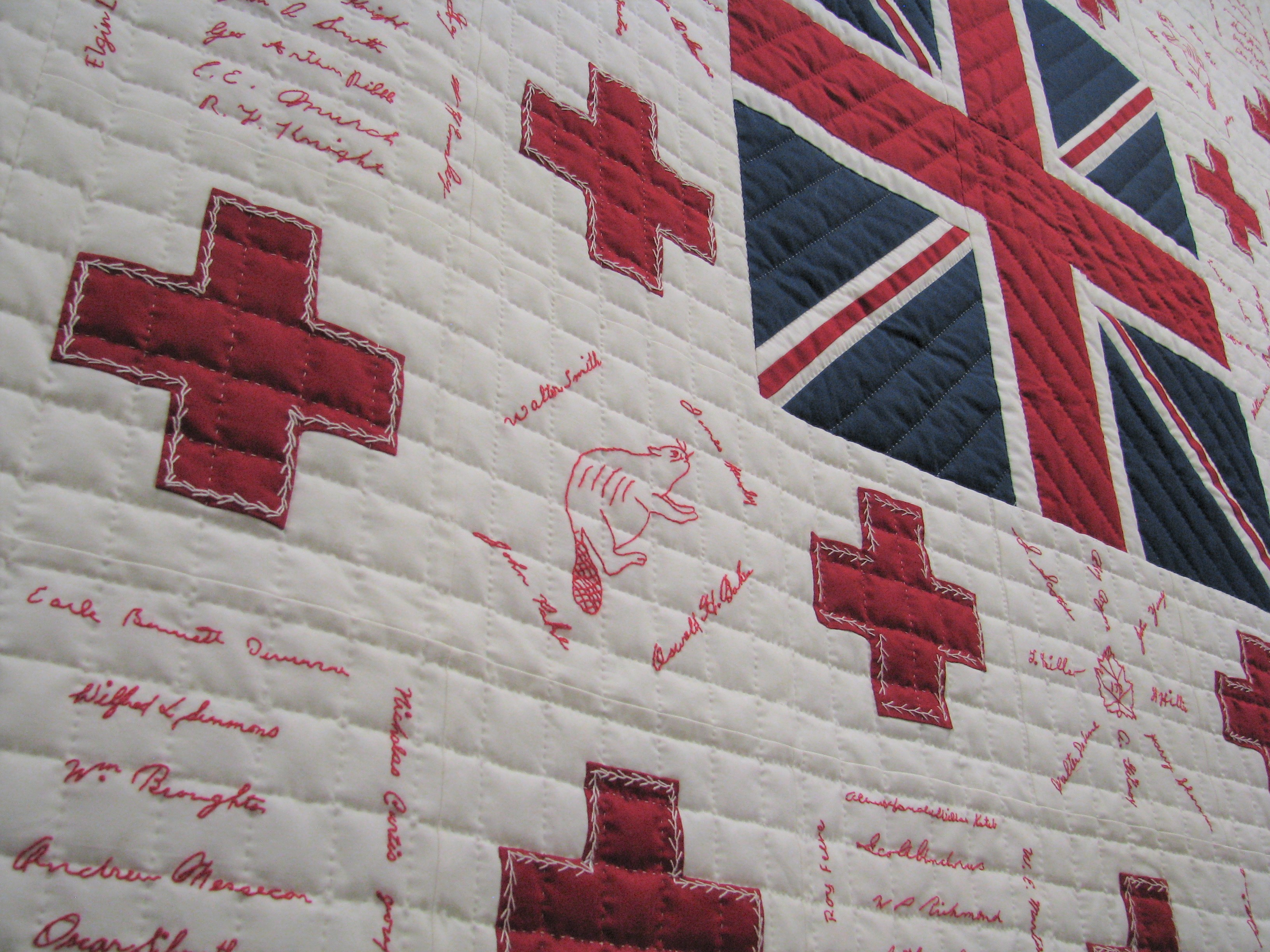 Quilting for a Cause: Red Cross Quilts of the Great War