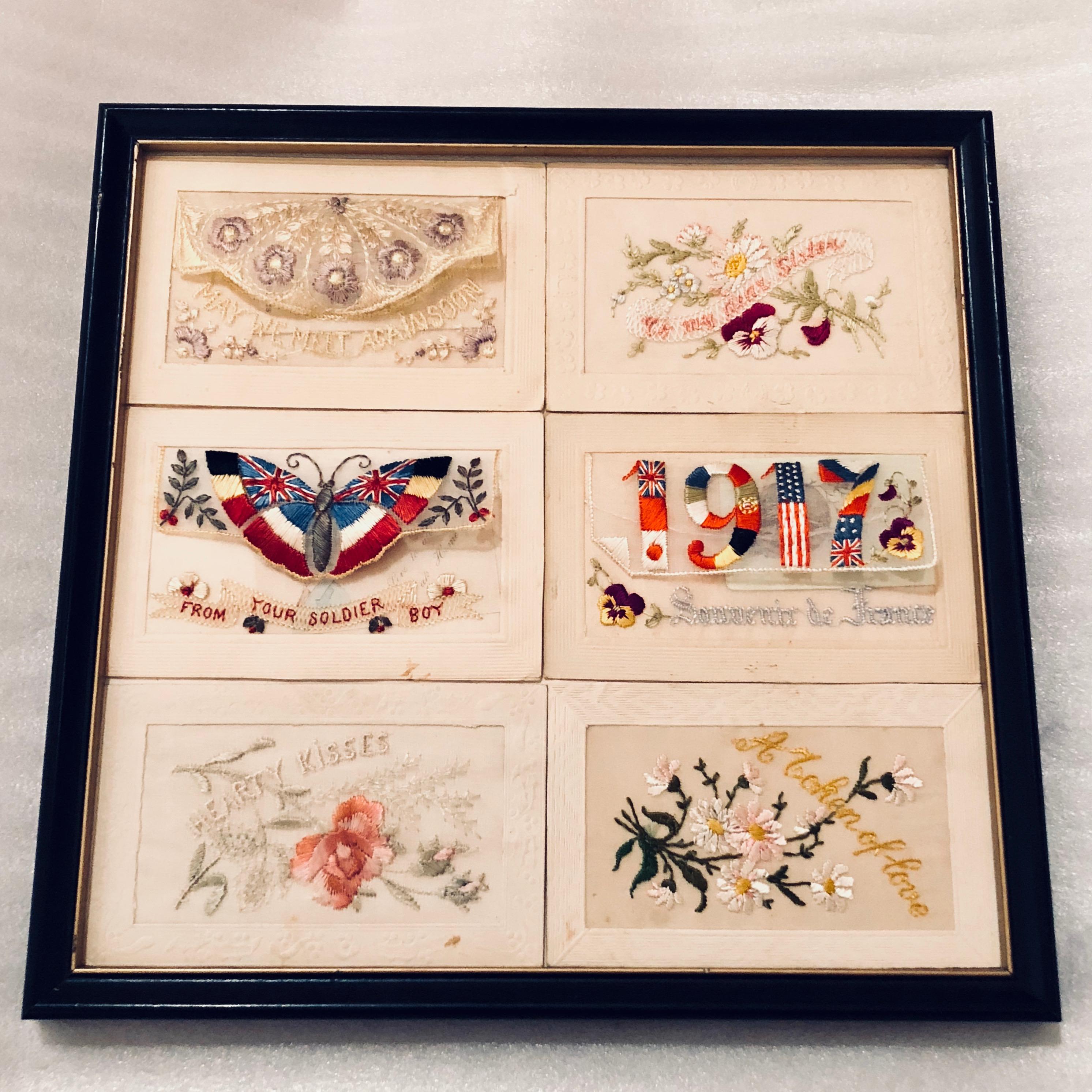 Workshop: Embroidered Postcards